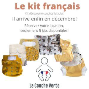 kit découverte couches lavables français