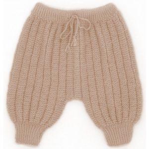 Sarouel pantalon laine 100% mérinos beige